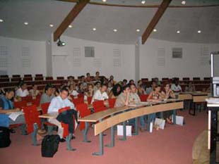 lecture theatre ISTAB
